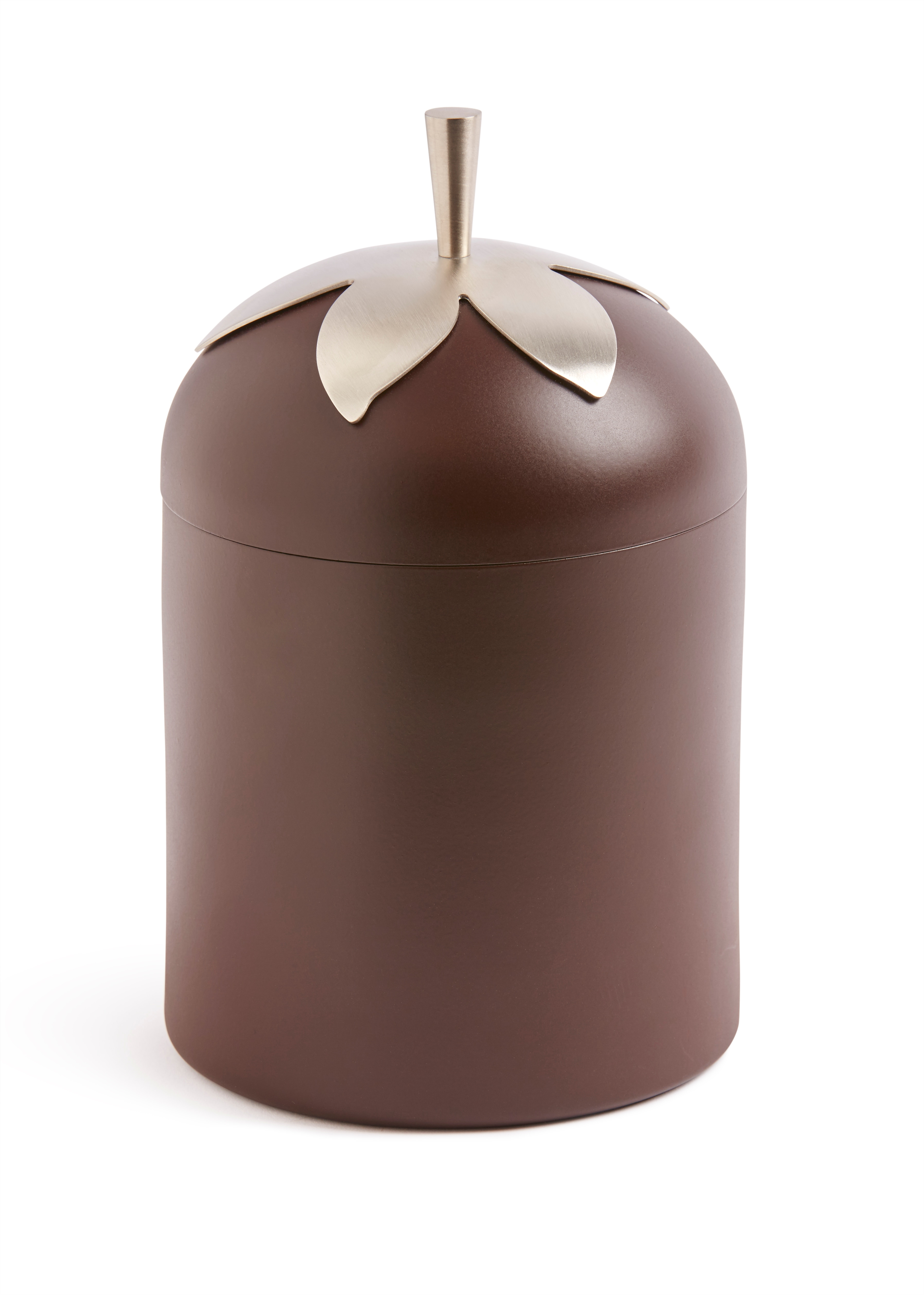 Blad kaffeburk brun
